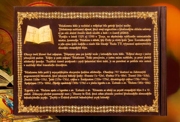 Svatý Václav – zadní obálka